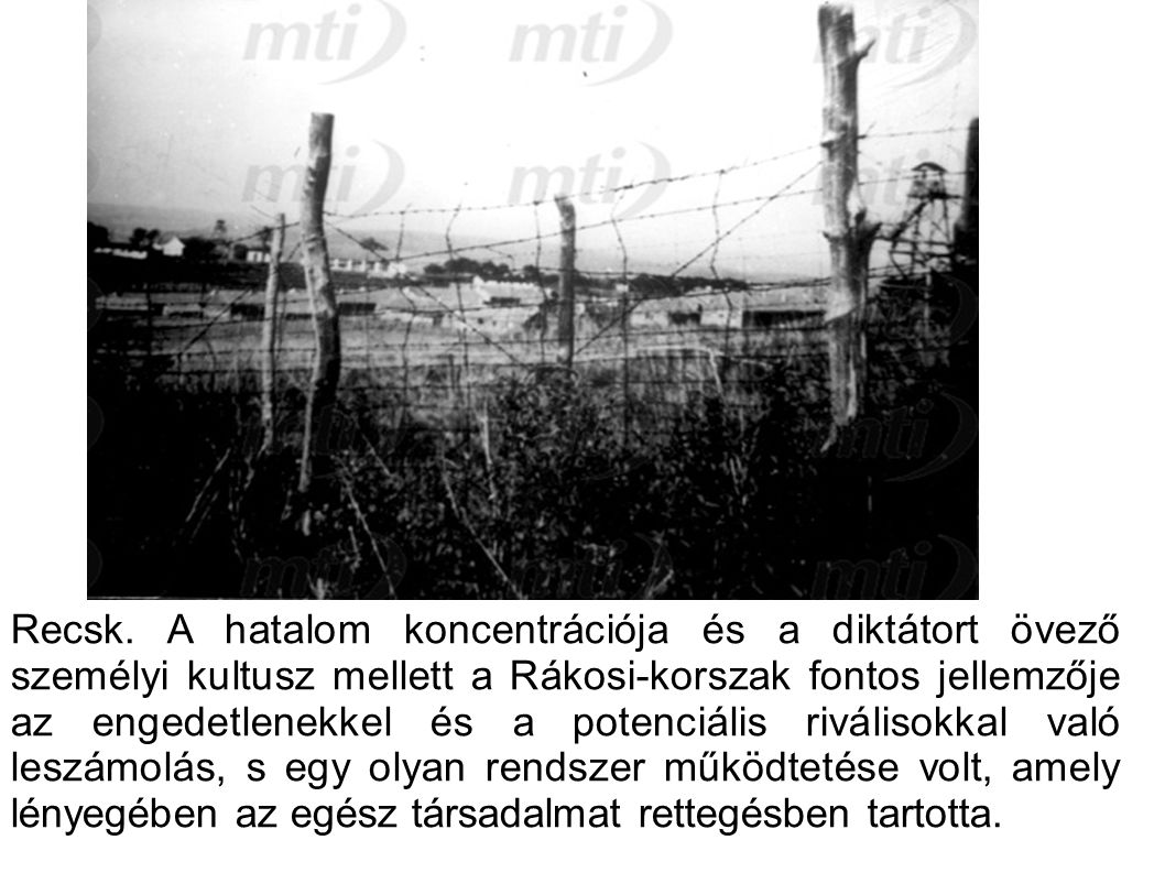 10.A feladat Magyarország II. világháború utáni történelmére vonatkozik.