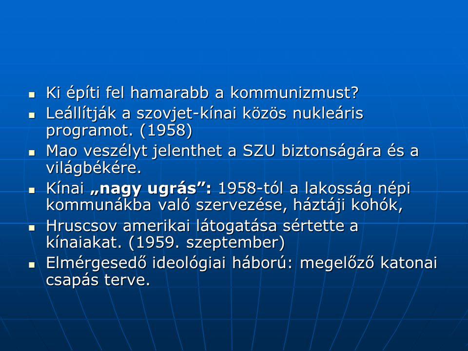 Hruscsov-Castro találkozó 1960.szeptember 1960. szeptember: ENSZ közgyűlés 1960.