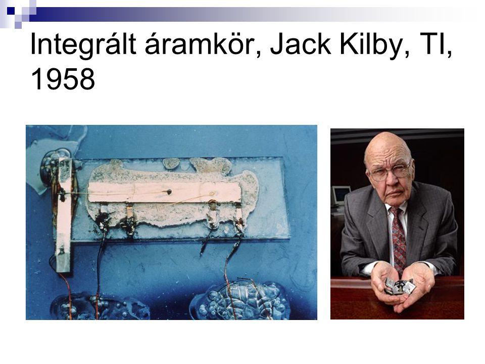 Integrált áramkör, Jack Kilby, TI, 1958