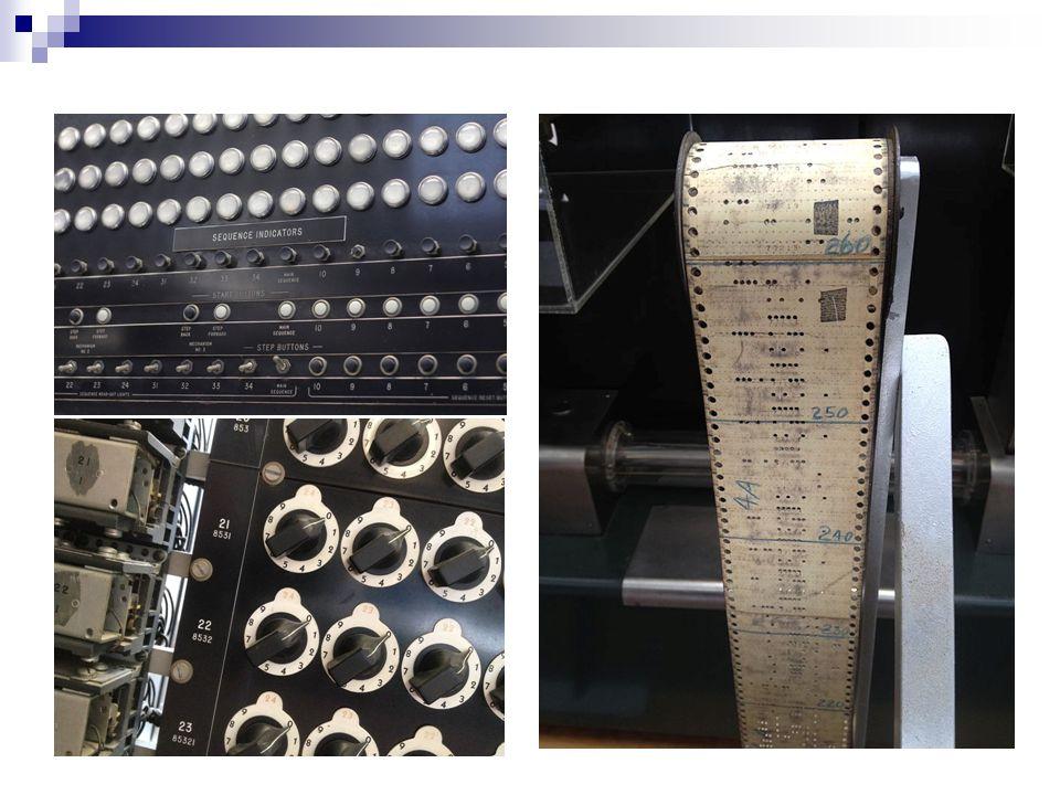 ENIAC (Electronic Numerical Integrator And Computer ), elektronikus, 1946