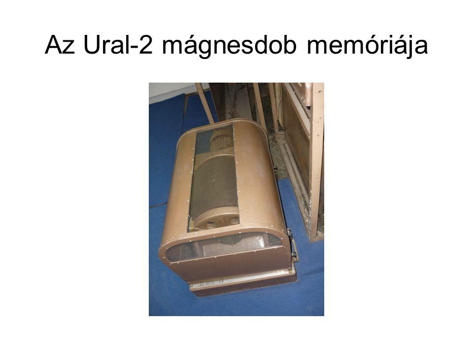 Az Ural-2 mágnesdob memóriája