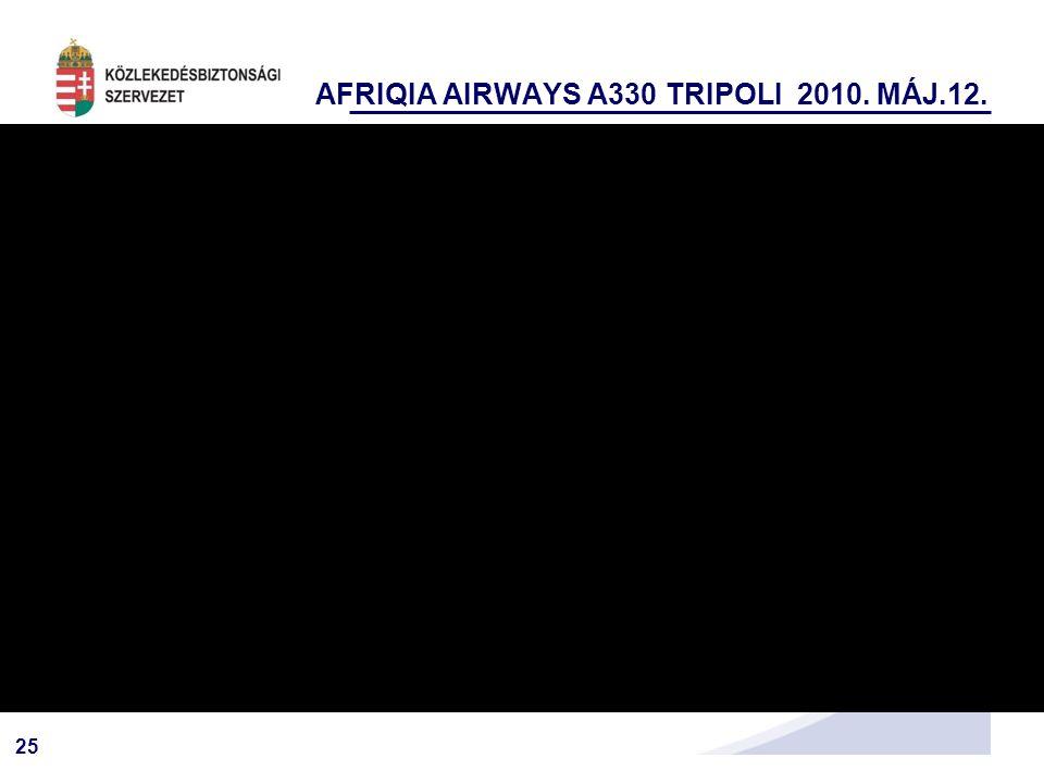 25 AFRIQIA AIRWAYS A330 TRIPOLI 2010. MÁJ.12.