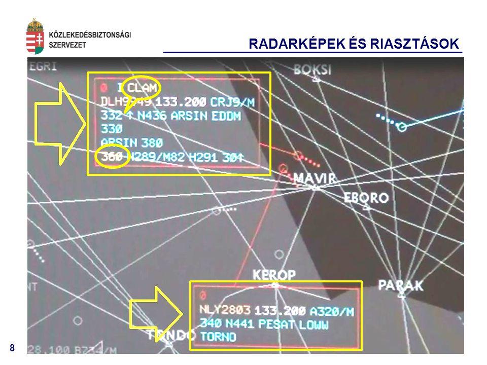 9 HALÁLOS BALESETEK VILÁGSZERTE (>13 PAX) a Flight Safety Foundation adatai alapján 2012.