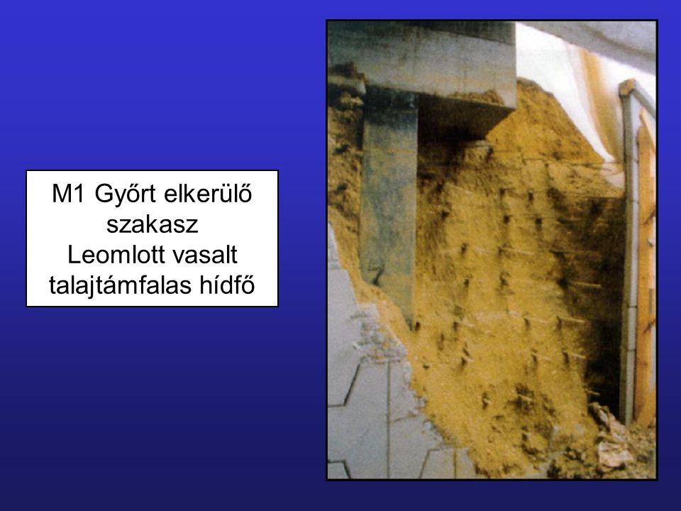 Kavicscölöp készítése öblítéses tömörítéses talajhelyettesítéssel talajkiszorítással