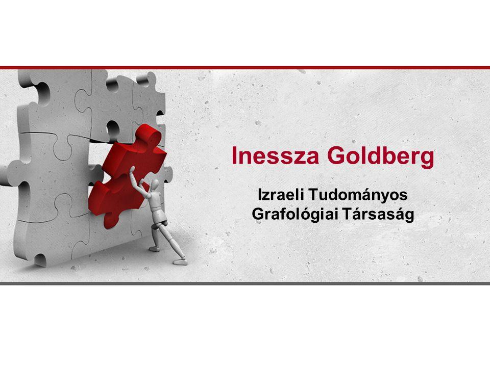 Inessza Goldberg Izraeli Tudományos Grafológiai Társaság