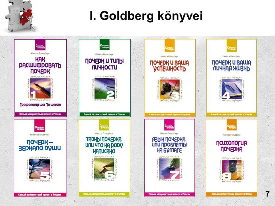 I. Goldberg könyvei 7