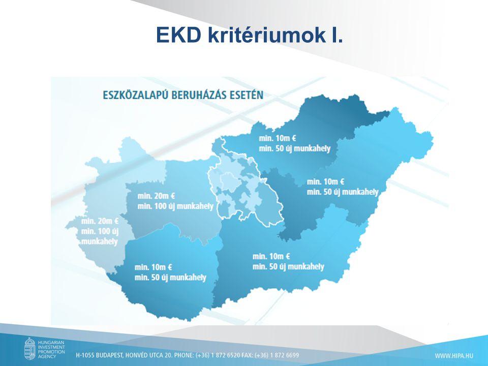 EKD kritériumok I.