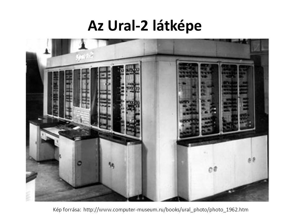 Az Ural-2 látképe Kép forrása: http://www.computer-museum.ru/books/ural_photo/photo_1962.htm