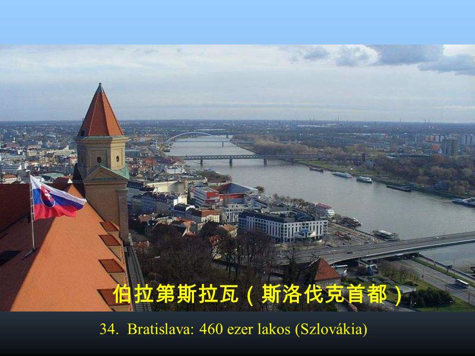 35. Tallinn: 412 ezer lakos (Észtország) 塔林(爱沙尼亚共和国首都)
