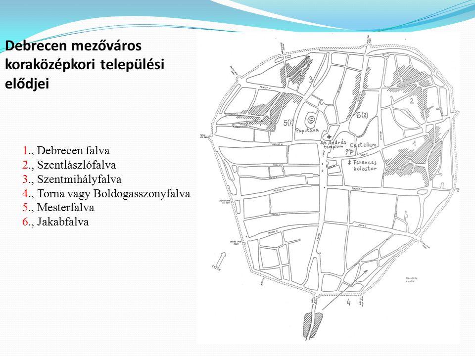 Forrás: Debrecen Megyei Jogú Város Integrált Városfejlesztési Stratégiája, Debrecen, 2008.