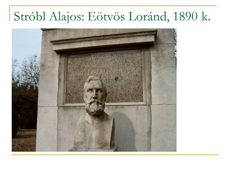 Stróbl Alajos: Eötvös Loránd, 1890 k.