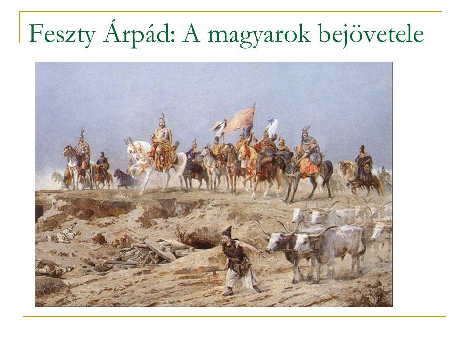 Feszty Árpád: A magyarok bejövetele