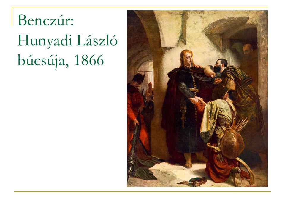 Benczúr: Hunyadi László búcsúja, 1866