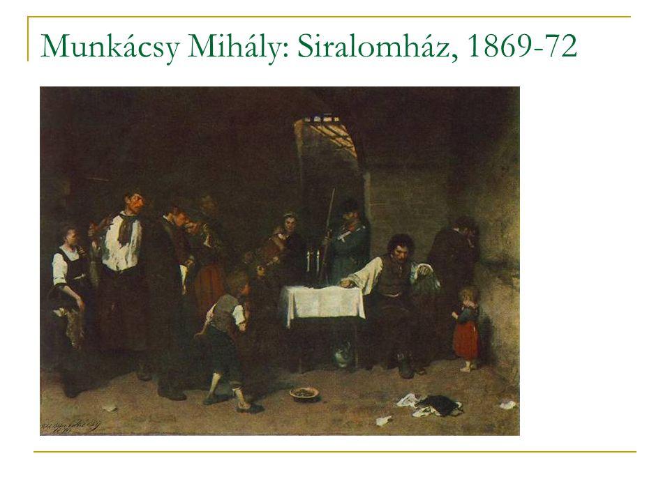 Munkácsy Mihály: Siralomház, 1869-72
