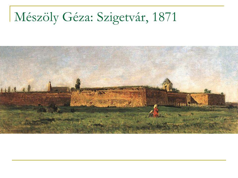Mészöly Géza: Szigetvár, 1871