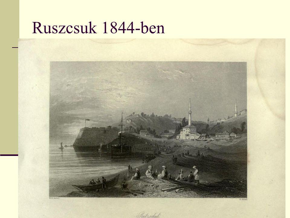 Ruszcsuk 1844-ben