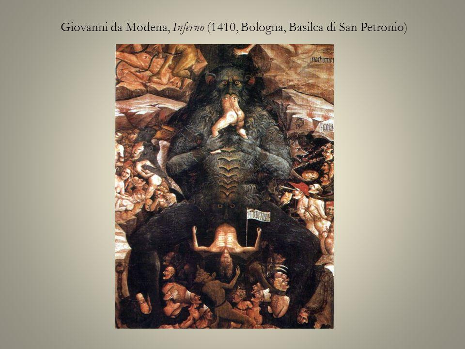Giovanni da Modena, Inferno (1410, Bologna, Basilca di San Petronio)
