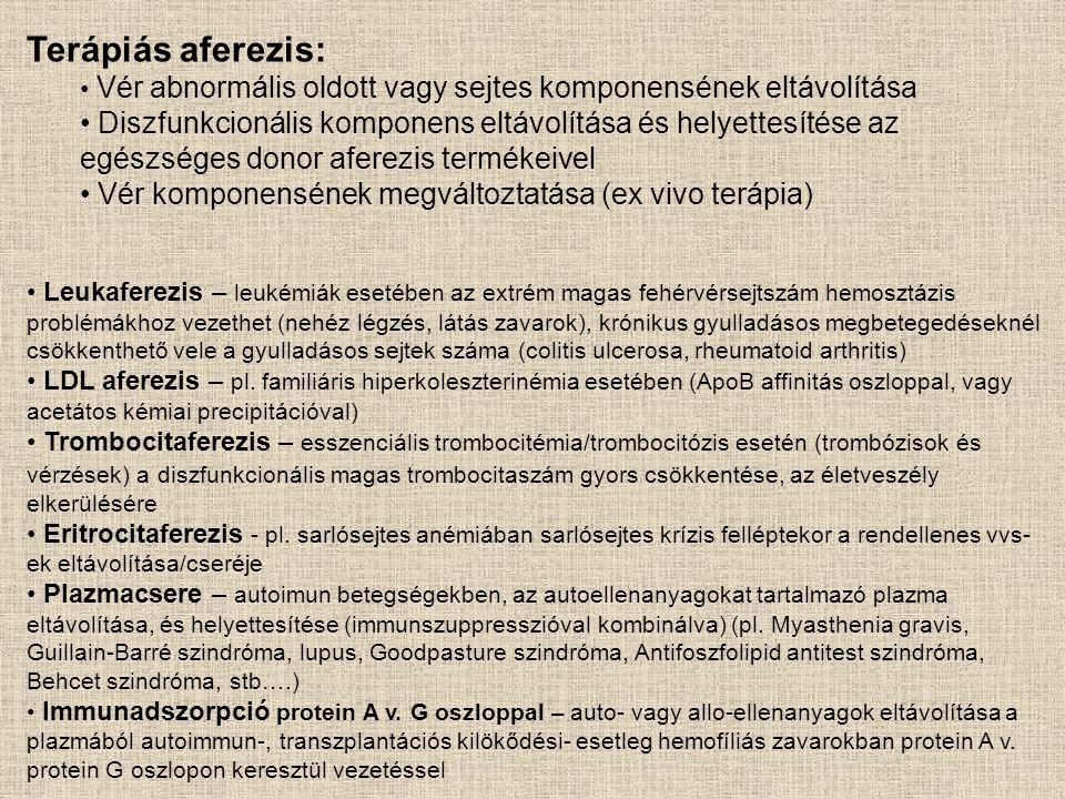 Az adherens sejtek kinyerése vagy eltávolítása (negatív és pozitív szeparáció) Olcsó, egyszerű, de csak az adherens sejtek elválasztására alkalmas, és alacsony tisztaságú