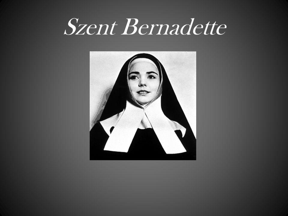 Szent Bernadette