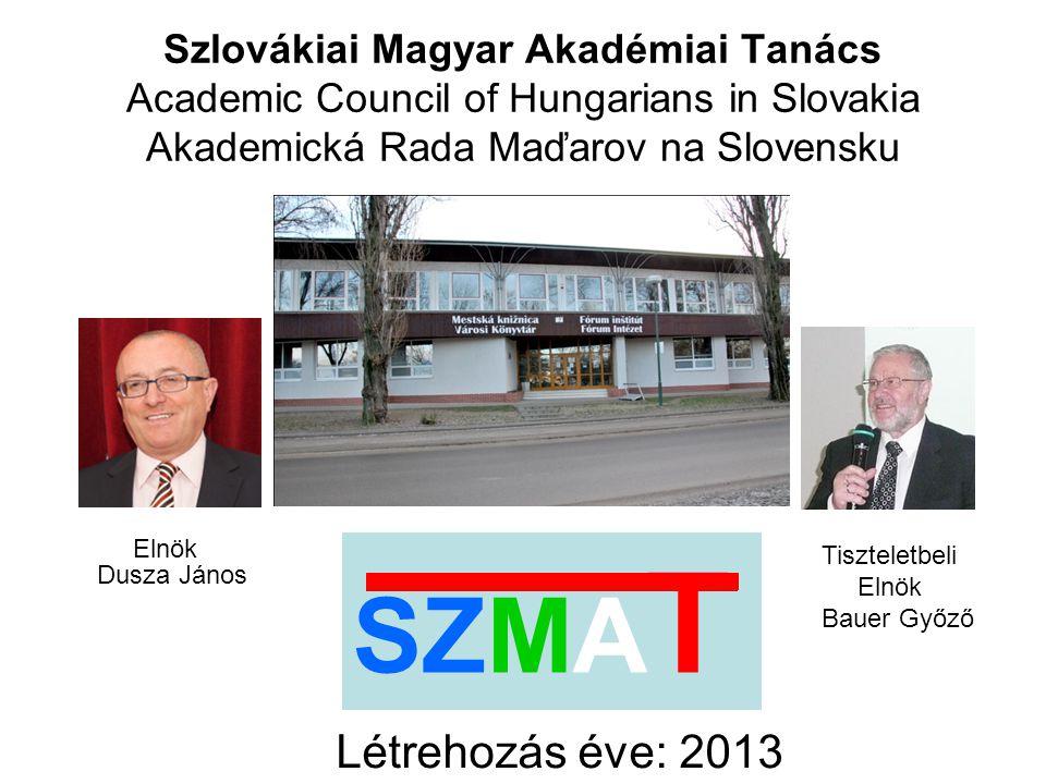 A szlovákiai magyarok által gyakorolt tudományok és művészetek támogatása és képviselete, valamint az elért eredmények terjesztése; a szlovákiai magyarok tudományos életbe való bekapcsolása a térségben és Szlovákiában; tudományos szervezetekkel való együttműködés a térségben és Szlovákiában; szlovákiai fiatal magyar kutatók tudományos tevékenységének támogatása; tudományos tárgyú összejövetelek, szimpóziumok, tanácskozások, továbbképzések, műhelyek, konferenciák, előadások szervezése; az Egyesület lebonyolító intézménye a Fórum Kisebbségkutató Intézet, Somorja.