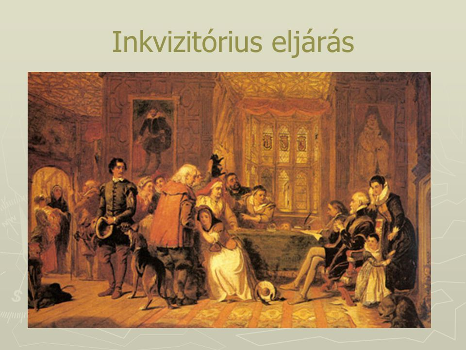 Inkvizitórius eljárás