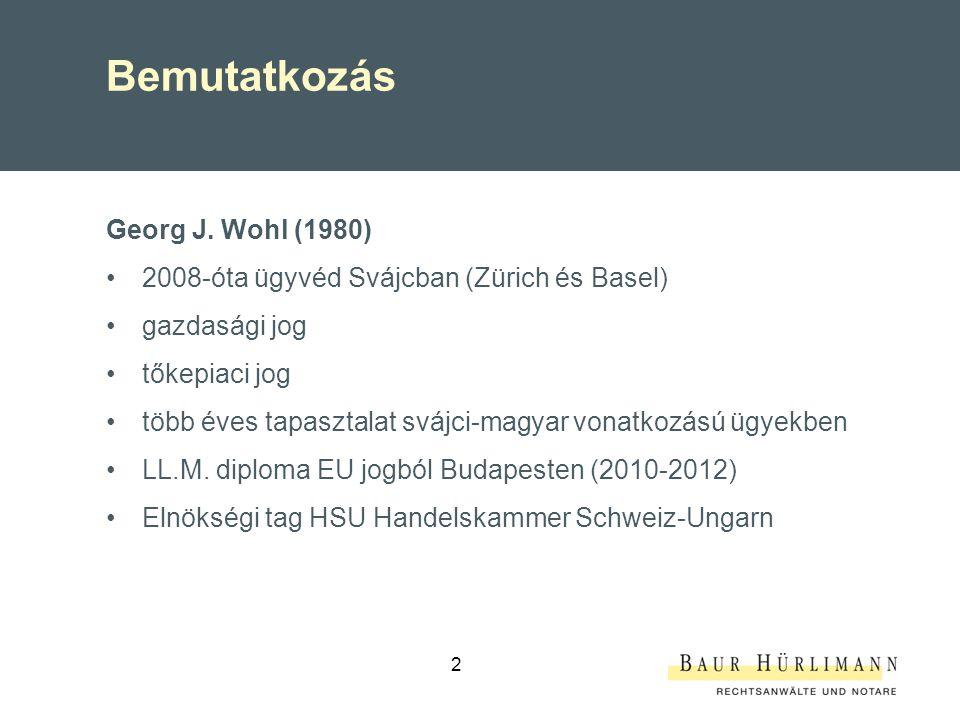 Áttekintés I.Néhány szám Svájcról II.Magyar – svájci kétoldalú kereskedelmi kapcsolatok III.Szabályozási, piaci környezet IV.Magyar export szempontjából perspektivikus termékcsoportok és szolgáltatások V.Sikeres piacra lépés Svájcban 3