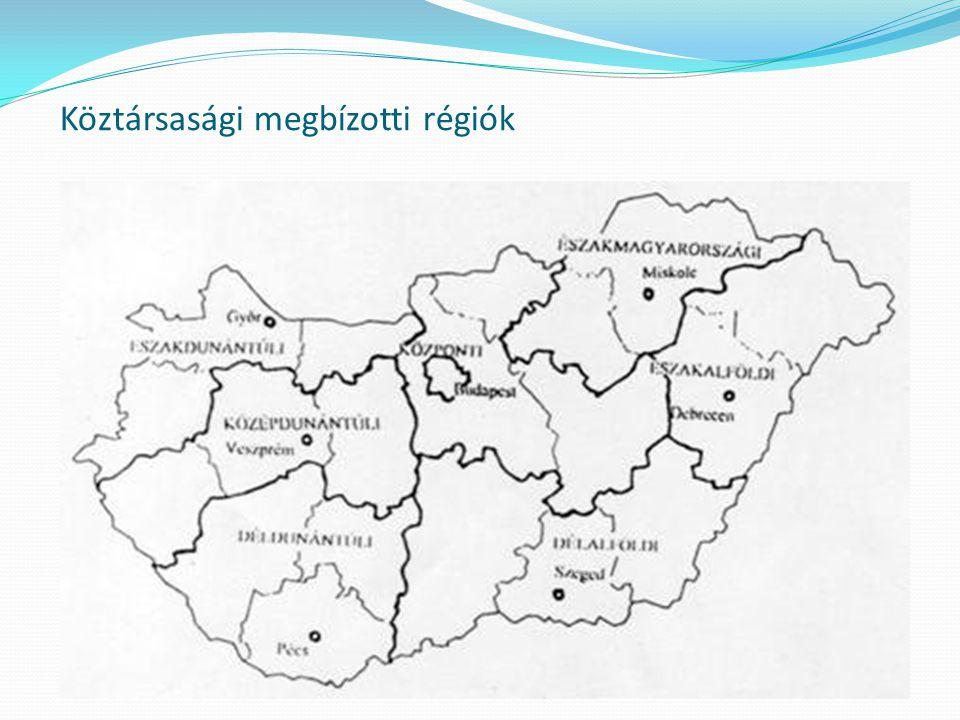 Köztársasági megbízotti régiók