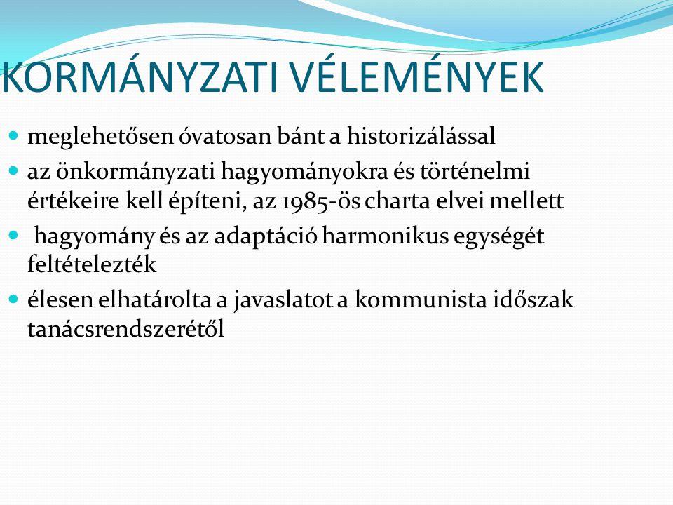 Modern intézményrendszer Országos Területfejlesztési Tanács (OTT) - a magyarországi regionalizmus és területfejlesztés meghatározó pillére - döntés-előkészítő, javaslattevő, véleményező, koordináló és döntéshozó szerv - az országos, a regionális, a megyei és kistérségi elképzelések koordinálását végzi - célja az elmaradott térségek támogatása, és hogy a további befektetésekhez javítsa a feltételeket
