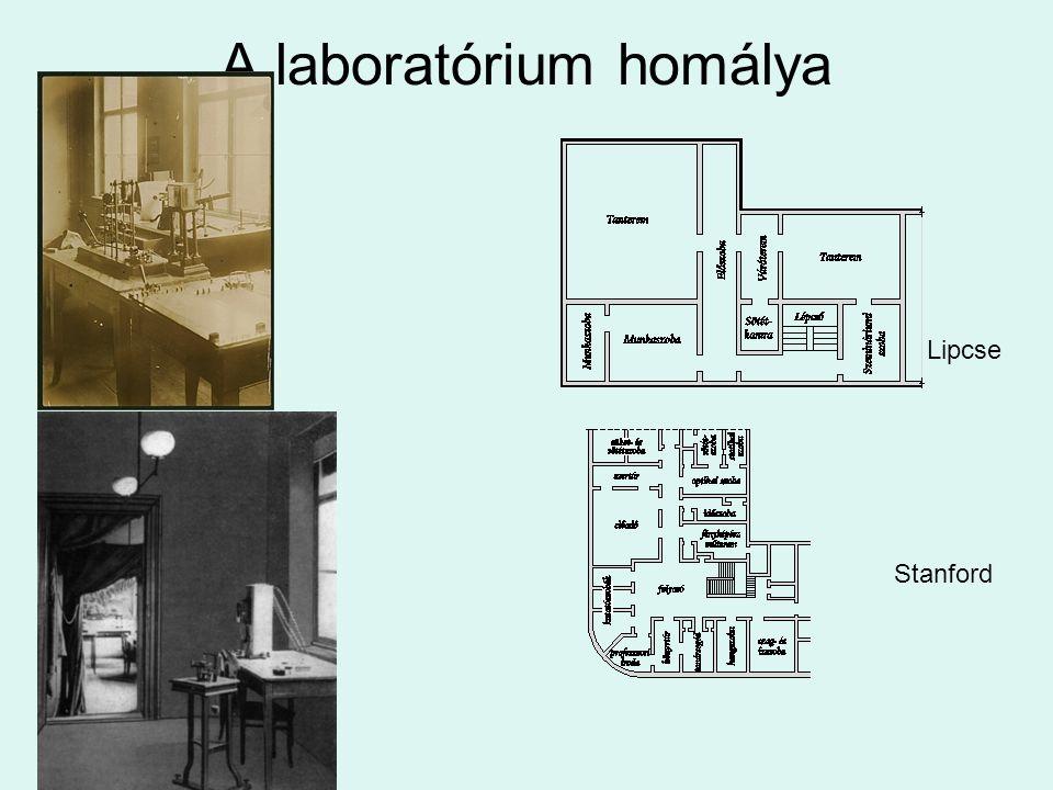 A laboratórium homálya Lipcse Stanford