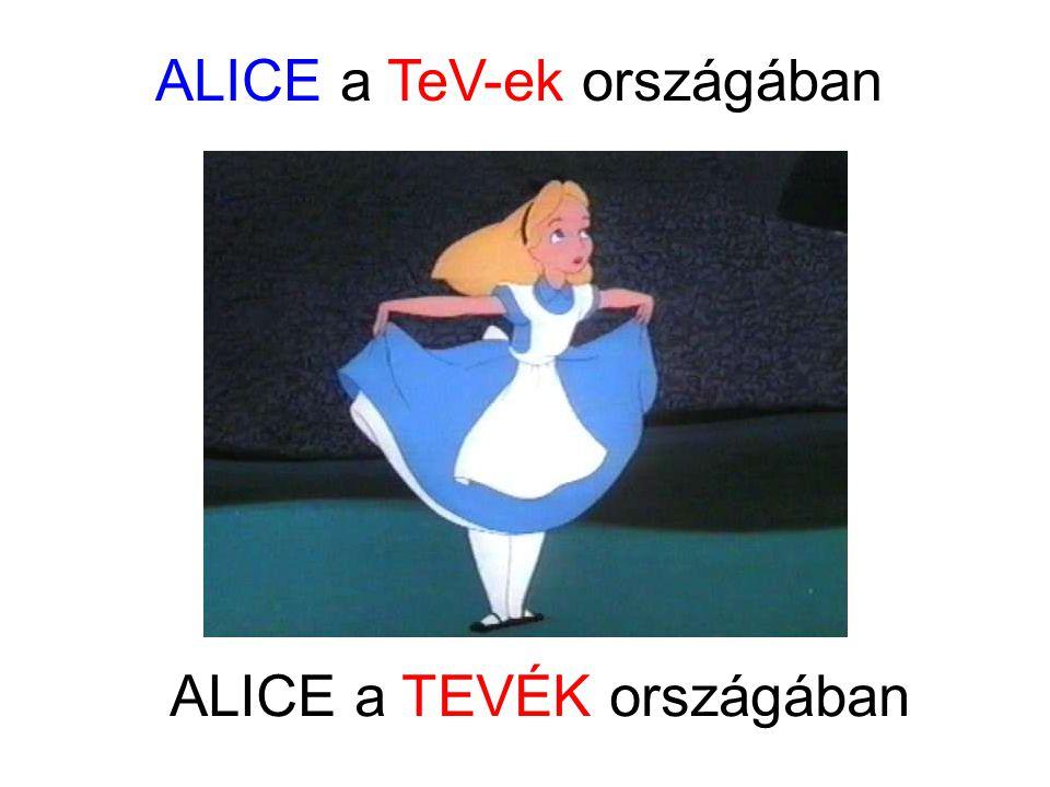 ALICE a TeV-ek országában ALICE a TEVÉK országában