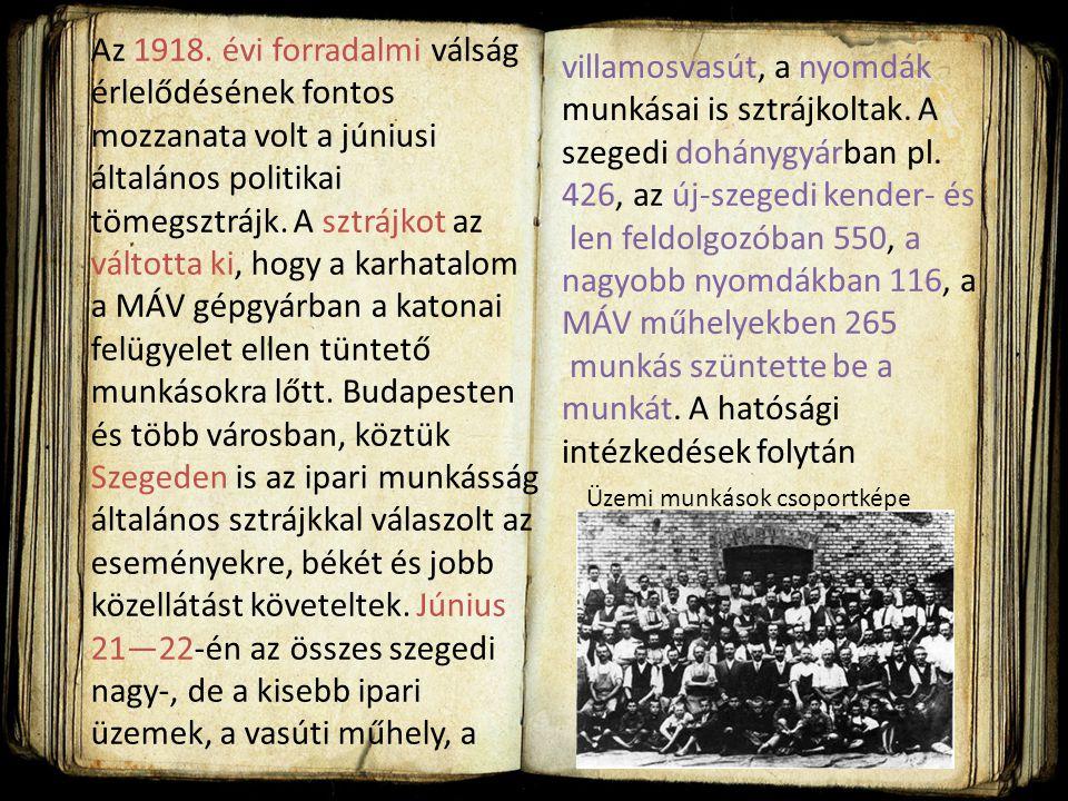 különösen a Szegedi Napló hasábjain. A polgári radikális Domokos László önálló kötetben tette közzé elképzeléseit Szeged a háború után címmel. A gazda
