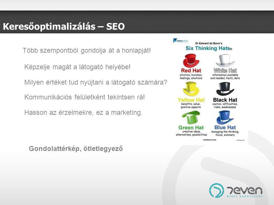 Keresőoptimalizálás – SEO Több szempontból gondolja át a honlapját.
