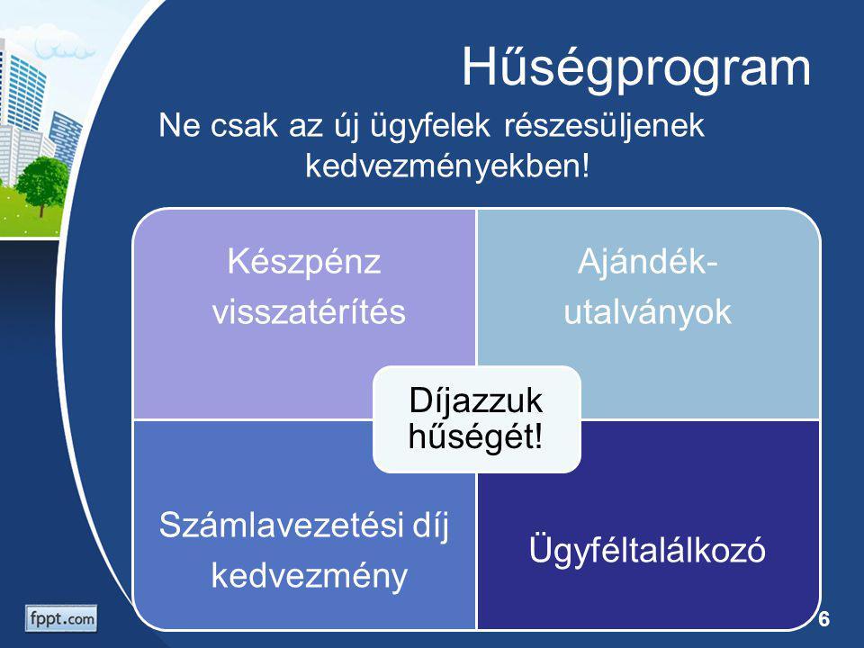 Folyamatok A nem hatékony folyamatok leggyakoribb OkaKövetkezményeMegoldása Fölösleges műveletek, túlzott adminisztráció Lassú ügymenet Folyamatfejlesztés Nem hatékony szervezeti felépítés Racionalizáció Emberi hiba Hibás szolgáltatás Automatizálás, szabályozás, ellenőrzés RendszerhibaIT fejlesztés A háttérműveletek az ügyfelek számára láthatatlanok.