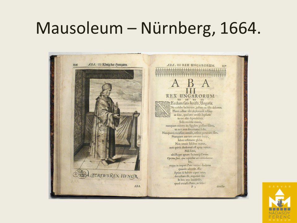 Mausoleum – Nürnberg, 1664.