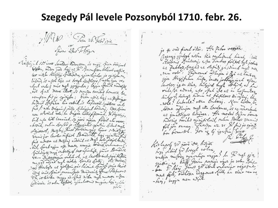"""Míg Károlyi Sándor 1704-es februári kiáltványa azzal hívja hadba a Vas megyei nemeseket: idézem """"Mivel hogy a Fejedelem hadakozásának föltett célja..."""