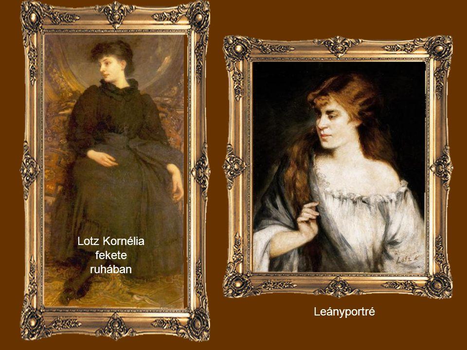 Lippich Ilona portréja (Tavasz)