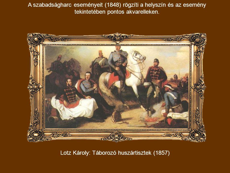 Leányportré Lotz Kornélia fekete ruhában