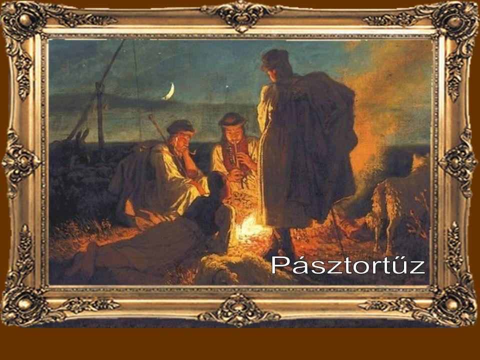Lotz Károly: Vágtató betyár