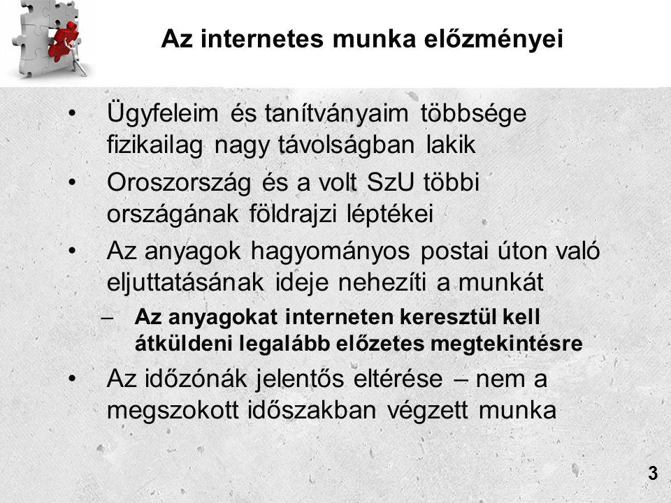 Az internetes munka előzményei A grafológia népszerűsítésének új lehetőségei Az internet-felhasználók száma csupán Oroszországban meghaladja az 50 milliót Új társalgási formák, melyek lehetővé teszik a távolságok és időzónák szabta korlátok leküzdését –Fórumok –On-line konzultációk –On-line oktatás –Információs levelezőlisták 4