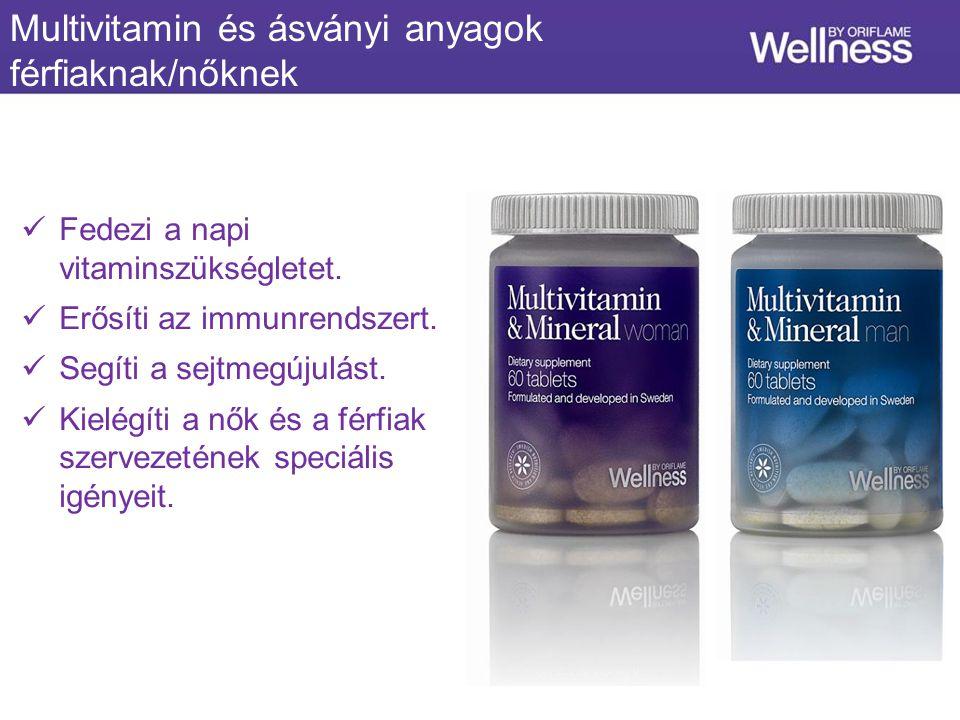Fedezi a napi vitaminszükségletet. Erősíti az immunrendszert.