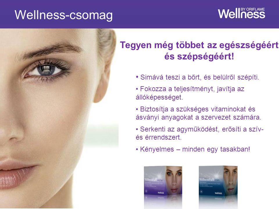 Wellness-csomag Simává teszi a bőrt, és belülről szépíti.