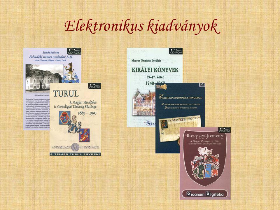Elektronikus kiadványok