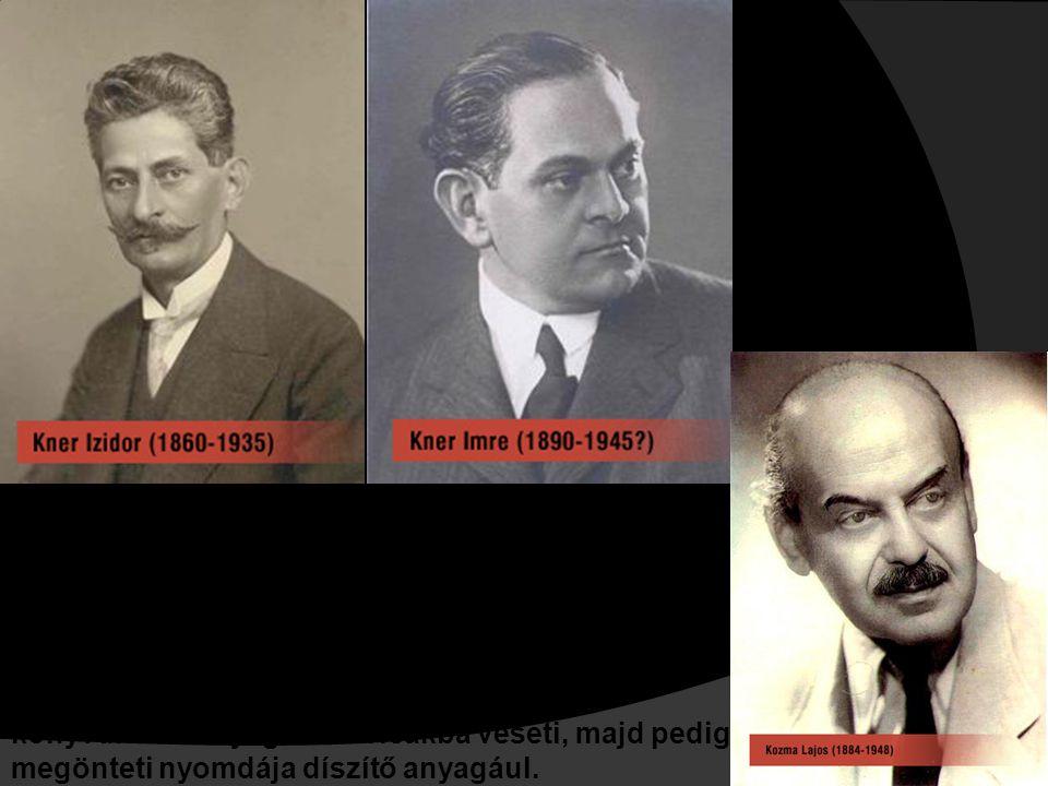 Kner Imre Kozma Lajossal, a kitűnő tervezőművésszel társul, s vele együtt munkálkodik a régi magyar tipográfia tradíciói nyomán a modern magyar tipogr