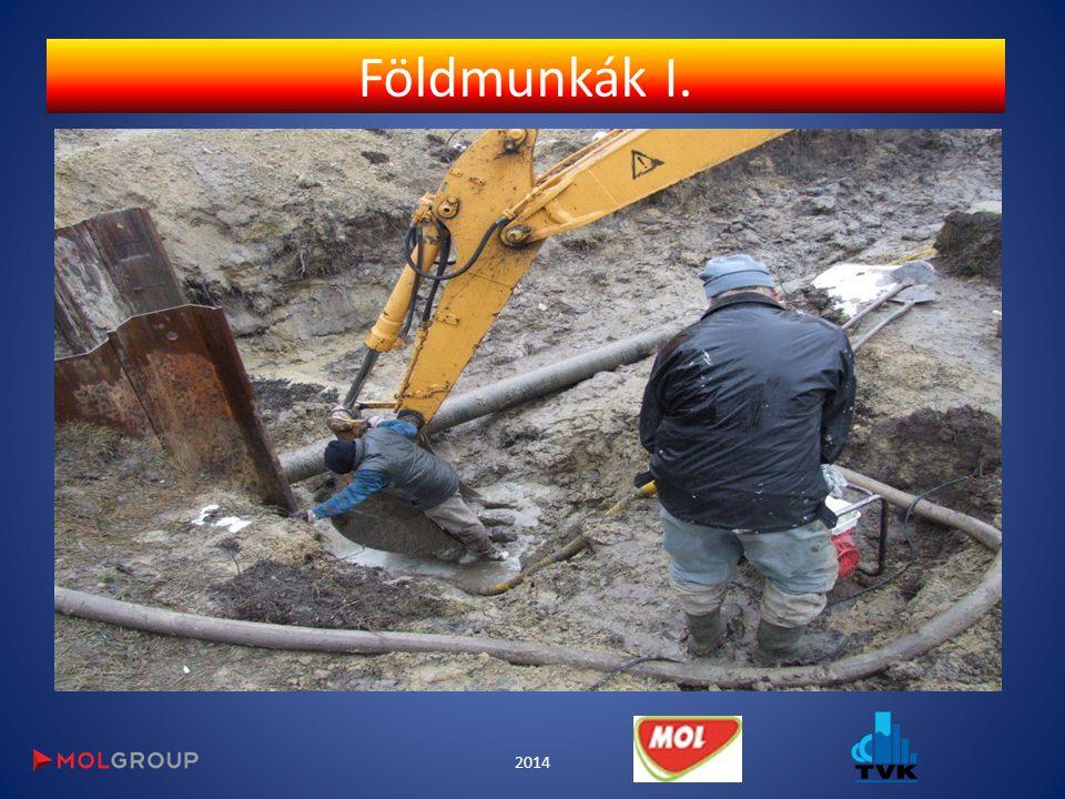 Földmunkák I. 2014