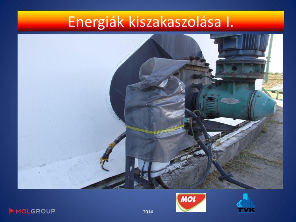 Energiák kiszakaszolása I. 2014