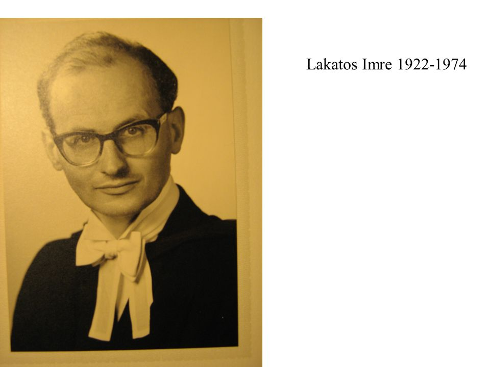 Lakatos Imre 1922-1974