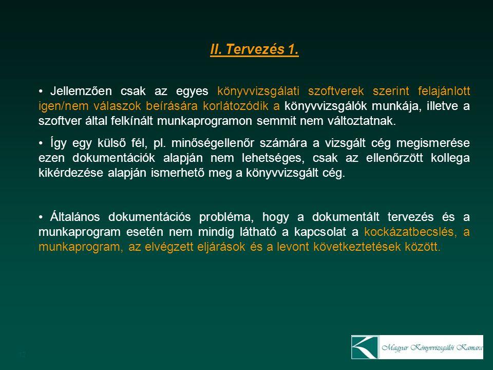 12 II. Tervezés 1.