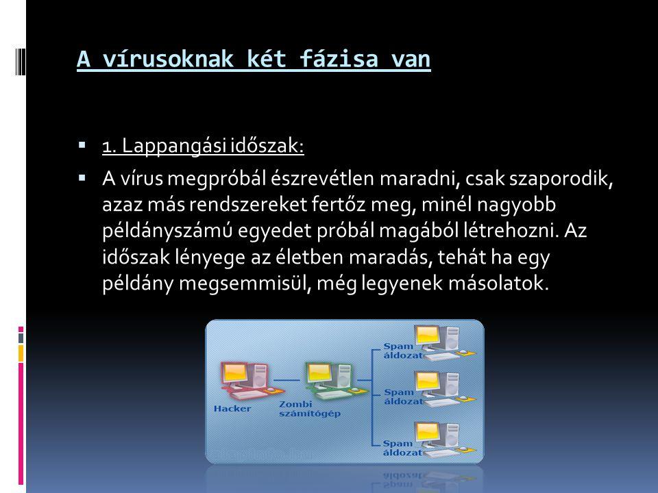 A vírusoknak két fázisa van 11.