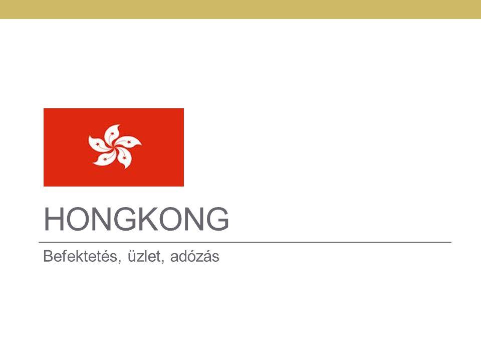 HONGKONG Befektetés, üzlet, adózás