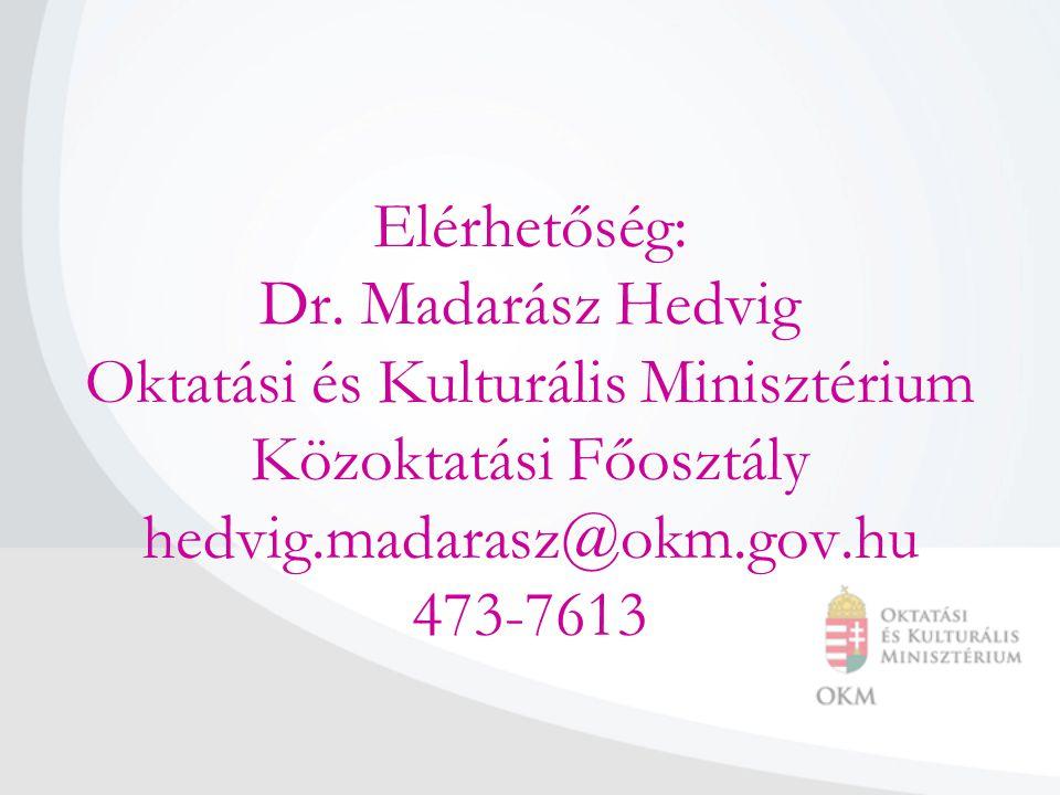 Elérhetőség: Dr.